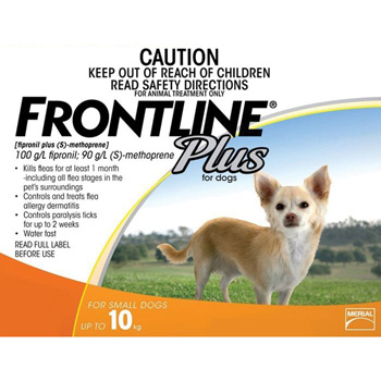 Frontline Plus for Dogs 5-22 lb 3 Dose