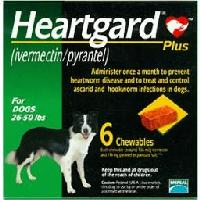 Rx Heartguard Plus Green 26-50 lb   6 Dose