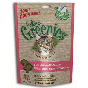 Greenies Feline Salmon 2.5 oz