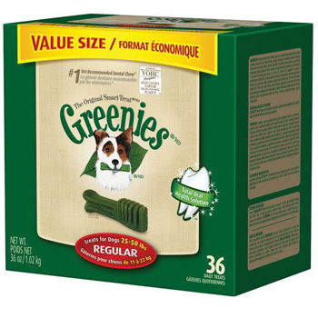 Greenies Value Tub Regular 36 ct