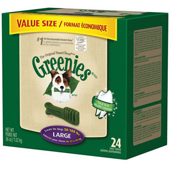 Greenies Value Tub Large 24 ct
