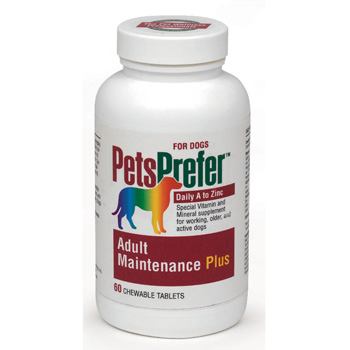 Pets Prefer Adult Maintenance Plus Canine - 60 count