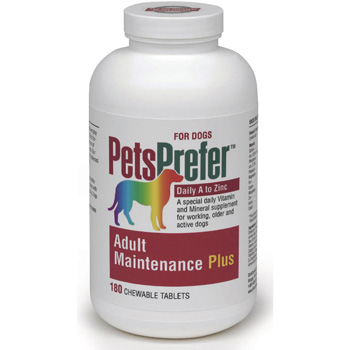 PetsPrefer Adult Maintenance Plus Treat for Dogs (180 Tabs)