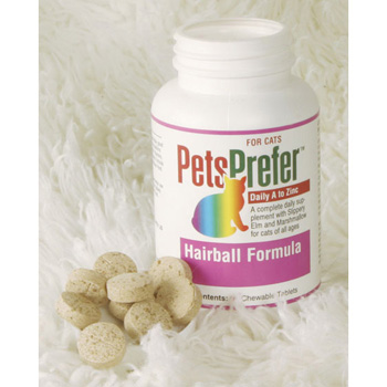 PetsPrefer Hairball Formula Tabs for Cats 90 ct