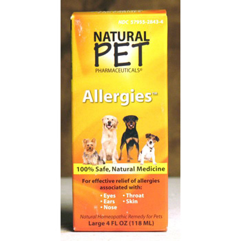 Natural Pet Allergies