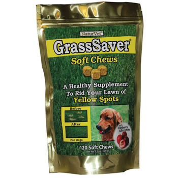 GrassSaver Soft Chews with Cranberry & Enzymes 120 ct