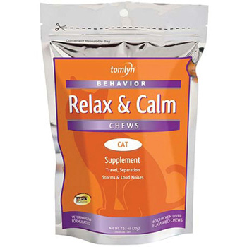 Relax and Calm Soft Chews for Cats 30 ct