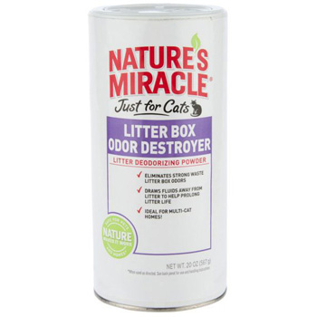 Natures Miracle Litter Box Odor Destroyer 20 oz