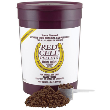 FARNAM 100506701 Red Cell Pellets Pet Supplement, 4-Pound