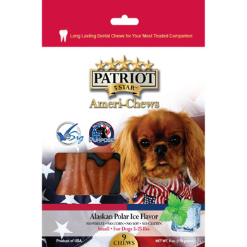Patriot Alaskan Polar Ice Dental Chew