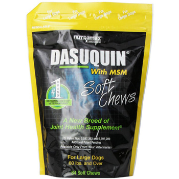 Dasuqin + MSM Soft Chews Large Dogs 150 ct