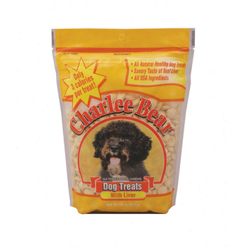 Charlee Bear Dog Treat Liver 16 oz