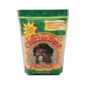 Charlee Bear Dog Treat Egg and Cheese 16 oz
