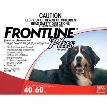 Frontline Plus for Dogs 89-132 lb  3 Dose