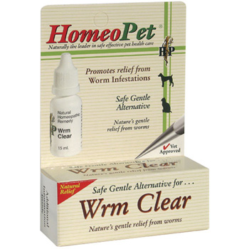 Homeopet Worm Clear 15 ml