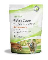 Vetality Skin and Coat 2 in 1 Dental Chews for Dogs, 14 Count