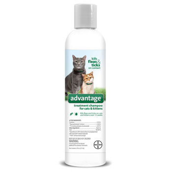 Advantage Flea and Tick Shampoo for Cats and Kittens