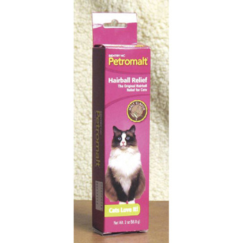 Sentery HC Petromalt Hairball Relief For Cats Malt -- 2 fl oz