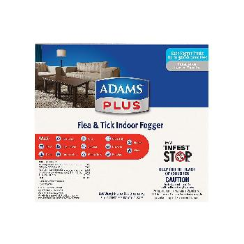 Adams Plus Flea & Tick Fogger 3 oz/3 pk