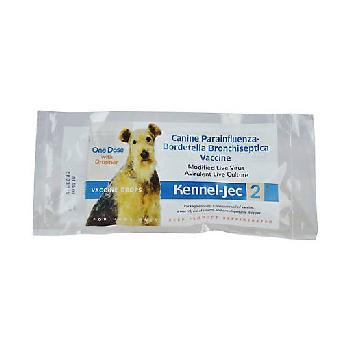Kennel-Jec 2 vaccine for dogs, single dose with dropper