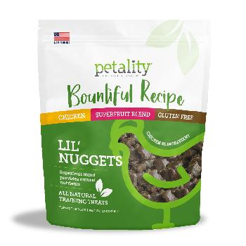 Petality Bountiful Recipe Lil Nuggets for Dogs, 12 ounces