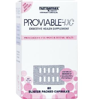 Proviable DC for Cats and Dogs Capsules 80 ct