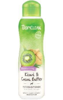 TropiClean Kiwi and Cocoa Butter Pet Conditioner, 20 ounces