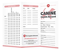 Canine health record