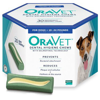 Oravet Dental Hygiene Chews Small