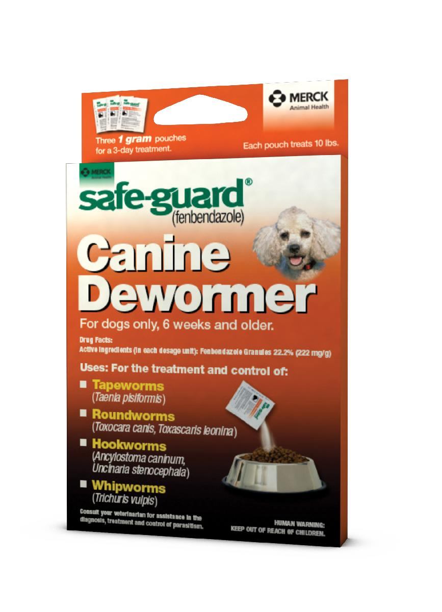 Safe Guard Canine Dewormer 1g X 3 Dose