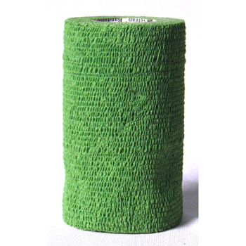 "3M Vetrap Bandaging Tape 5 yd X 4"" Green"