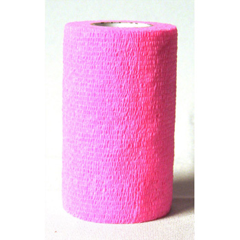 "3M Vetrap Bandaging Tape 5 yd X 4"" Hot Pink"