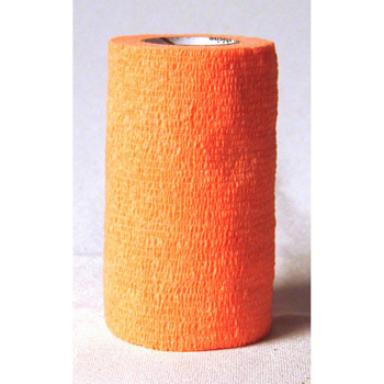 "3M Vetrap Bandaging Tape 5 yd X 4"" Orange"