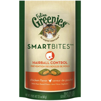 Greenies Smartbites Hairball Control 2.1 oz
