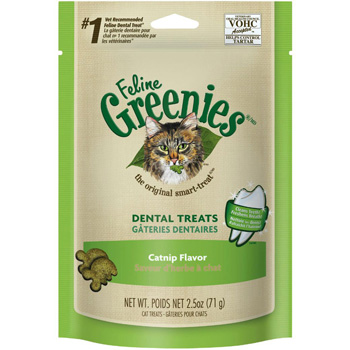 Feline Greenies Catnip Flavor 2.5 oz