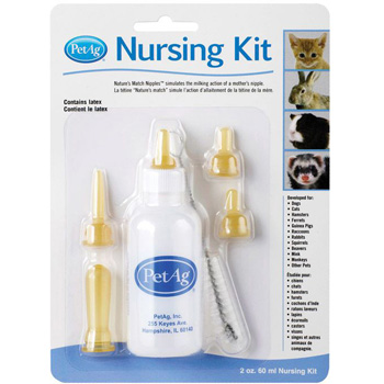 PetAg Nursing Kit 2 oz Bottle