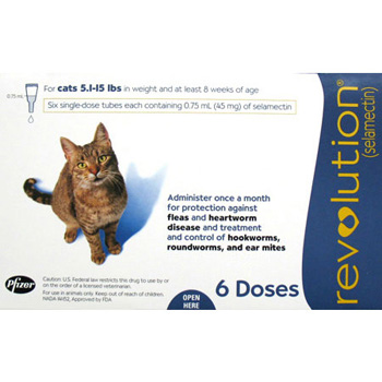 Rx Revolution Cat 5-15 lb  6 Dose