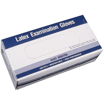 Latex Exam Gloves Powder Free Small 100 ct