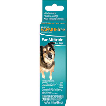 Sentry HC Earmite Free Ear Miticide for Dogs 3 oz