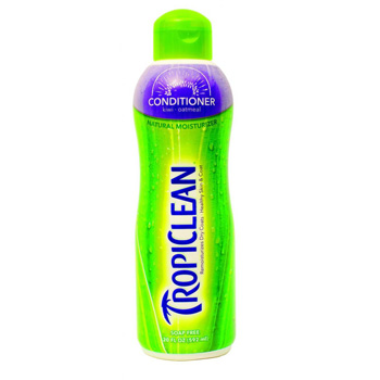 TropiClean Kiwi & Cocoa Butter Pet Conditioner 20 oz