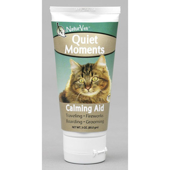 NaturVet Quiet Moments Calming Aid Plus Ginger