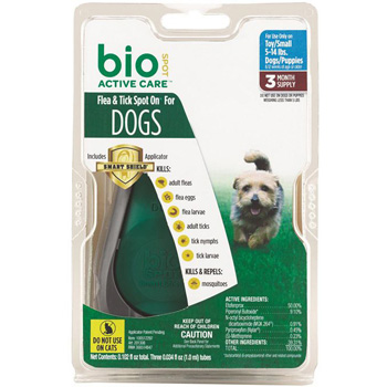 Bio Spot Active Care Small Dogs 5-14 lb 3 Dose