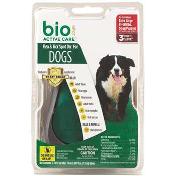 Bio Spot Active Care Xtra Large Dogs 61-150 lb 3 Dose