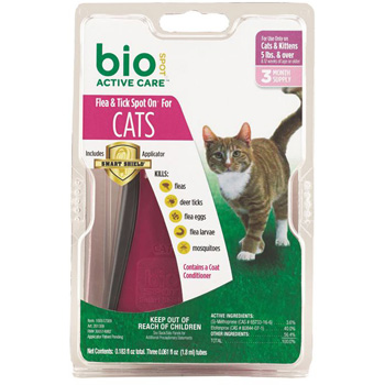 BioSpot Active Care for Cats Over 5 lb   3 Dose