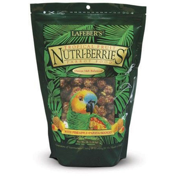 Lafeber's Gourmet Tropical Fruit Nutri-Berries for Parrots 3 lb