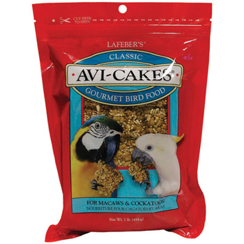 Lafeber's Avi-Cakes for Macaws / Cockatoos 1 lb