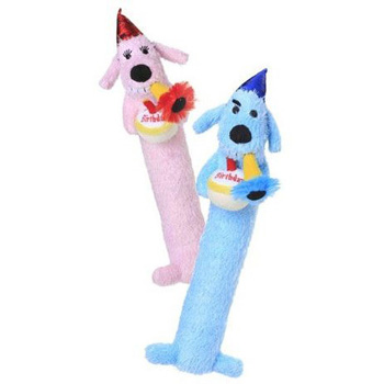 Loofa Birthday Dog 12""