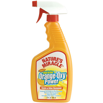 Nature's Miracle Orange-Oxy Formula Dual Action Spray Stain & Odor Remover 24 oz