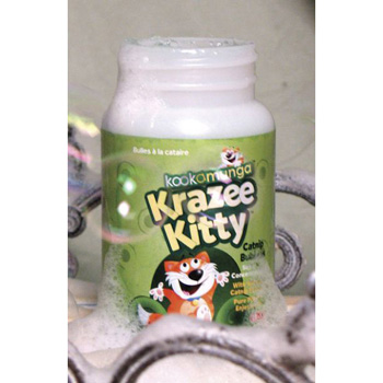 Kookamunga Krazee Kitty Catnip Bubbles 5 oz