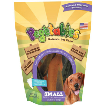 Pegetables Mixed Dental Chews Small 8.4 oz